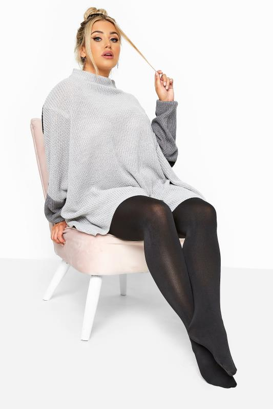 Black Thermal 300 Denier Tights
