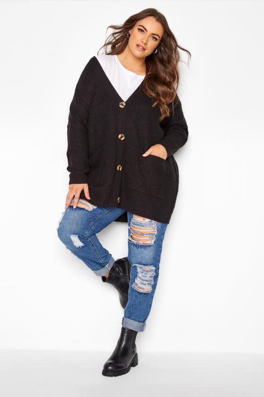 Black Button Knitted Cardigan_B.jpg