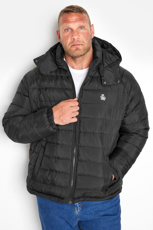 Tallas Grandes PENGUIN MUNSINGWEAR Black Padded Jacket