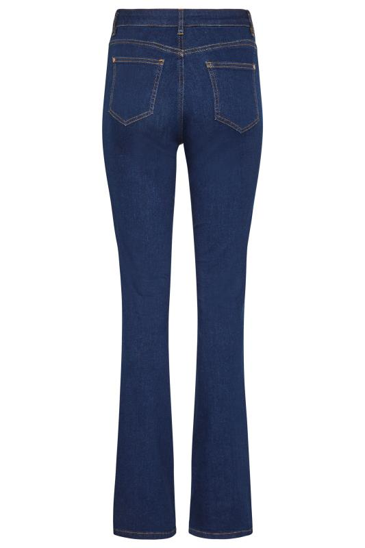Deep Indigo Blue Ultra Stretch Bootcut Jeans_BK.jpg