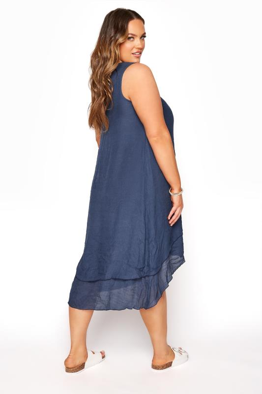 Navy Floral Double Layer Dress_C.jpg