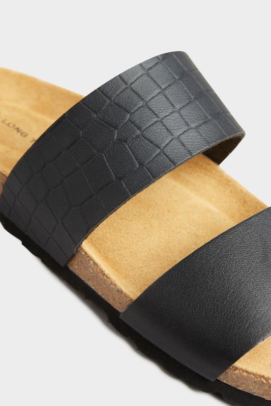 Black Leather Two Strap Footbed Sandals_D.jpg