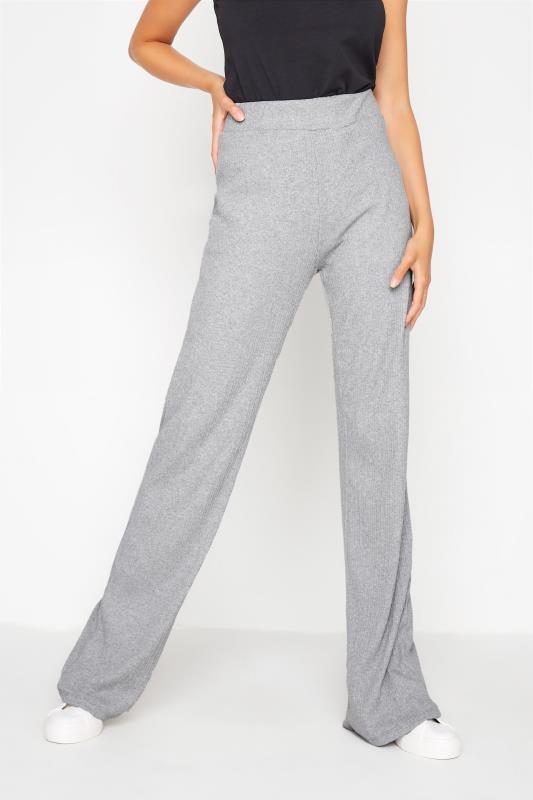 LTS Grey Ribbed Wide Leg Trousers_B.jpg