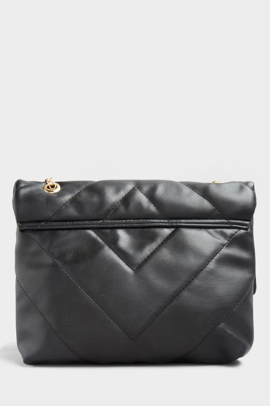Black Quilted Chevron Chain Crossbody Bag_B.jpg