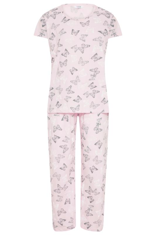 Blush Pink Summer Butterfly Pyjama Set_F.jpg
