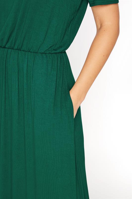 LTS Forest Green Pocket Midaxi Dress_D.jpg