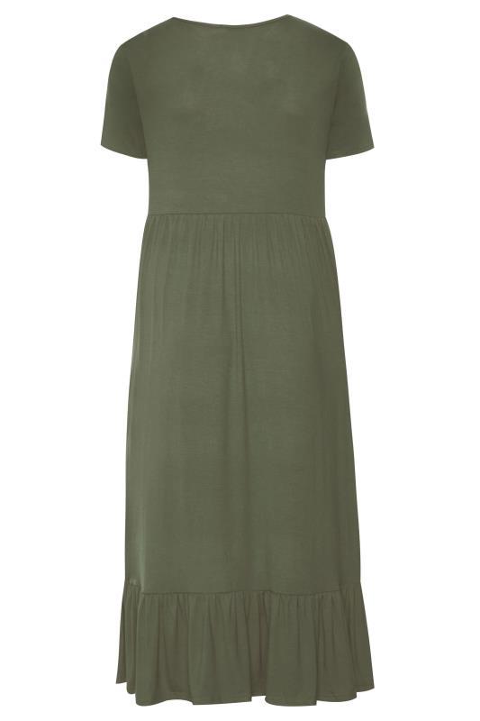 LTS Khaki Tiered Maxi Dress_BK.jpg