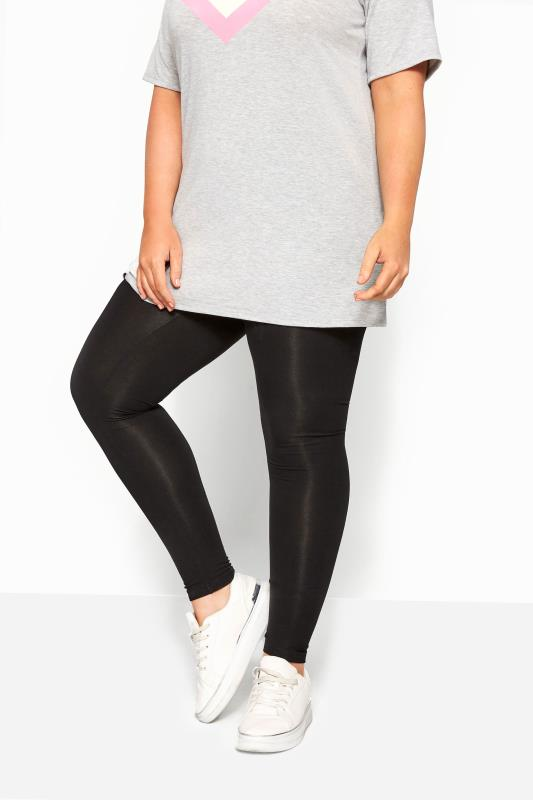 SUSTAINABLE Black Recycled Leggings