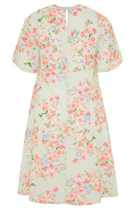 YOURS LONDON Sage Green Floral Dress_vl.jpg