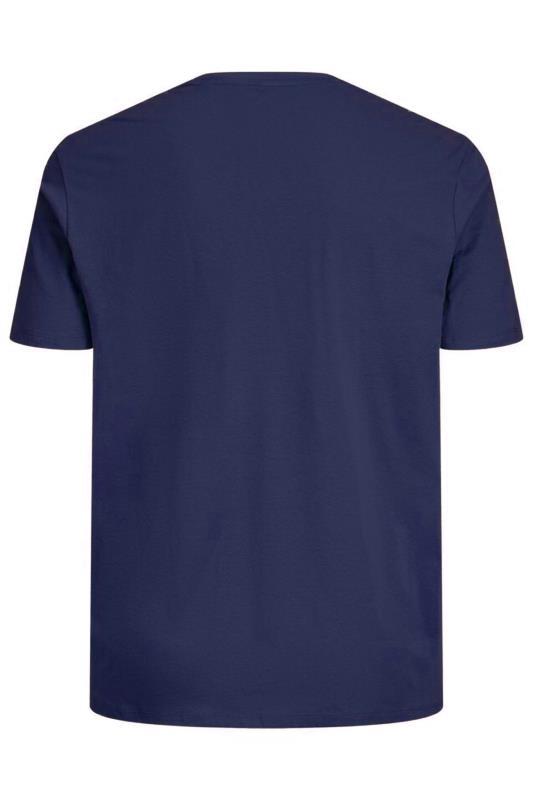 JACK & JONES Blue Joshua T-Shirt