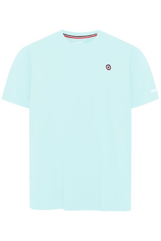 Plus Size  LAMBRETTA Light Blue Logo T-Shirt