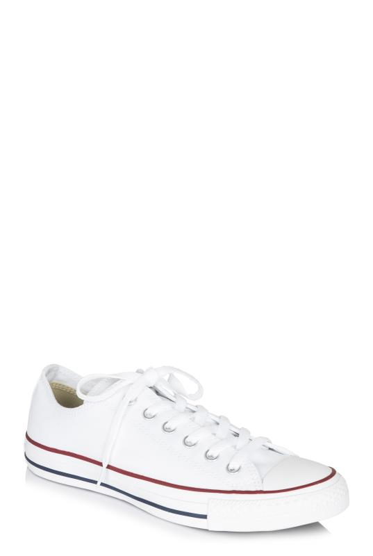 Tall Lace Ups White Chuck Taylor All Star Ox Trainer