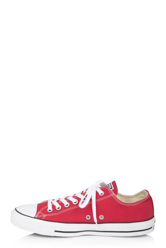 Red Chuck Taylor All Star Ox Trainer