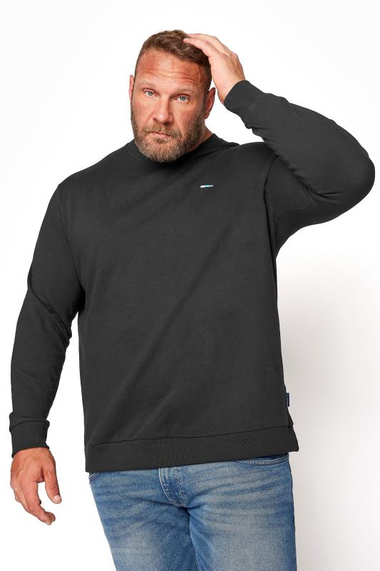 Men's  BadRhino Black Essential Sweatshirt