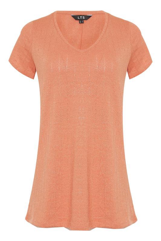 LTS Orange V-Neck T-Shirt_F.jpg