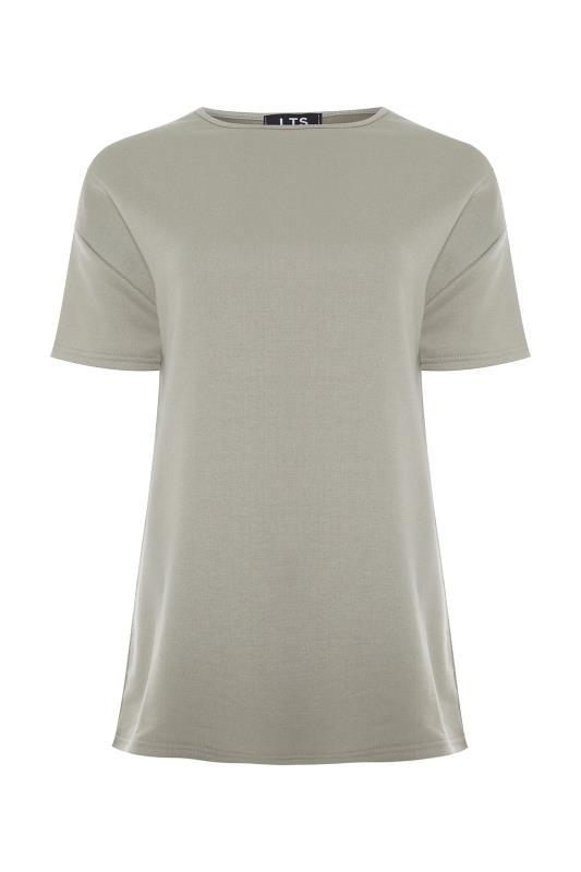 LTS Khaki Jersey Sweat T-Shirt_F.jpg