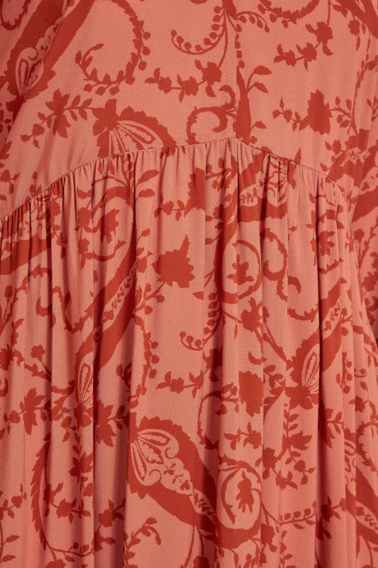 THE LIMITED EDIT Pink Paisley Boho Maxi Dress_S.jpg