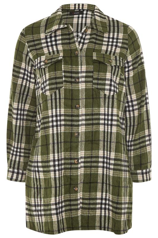 LIMITED COLLECTION Khaki Check Shacket