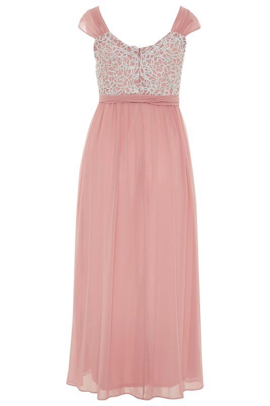 Pink Sleeveless Crochet Overlay Maxi Dress_BK.jpg