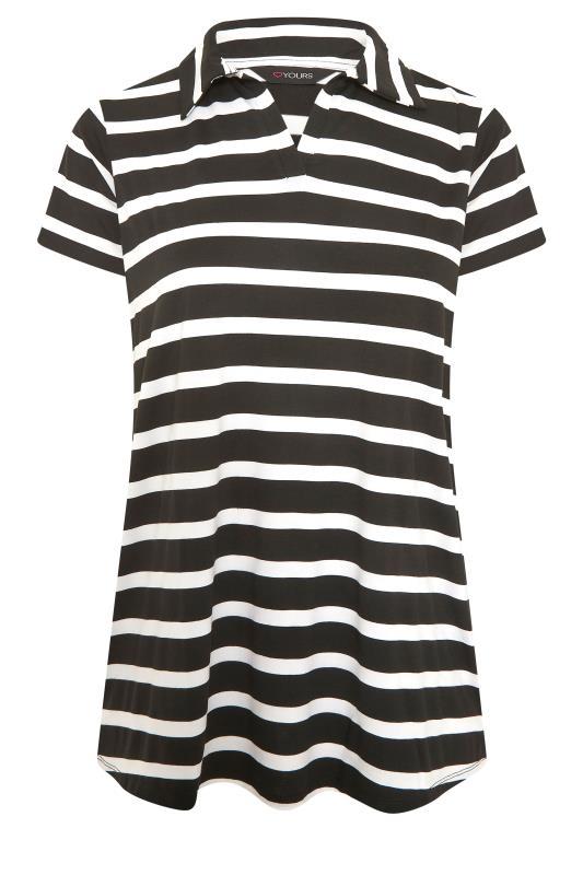 Black Stripe Polo Top_F.jpg