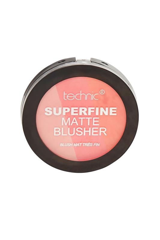 dla puszystych Technic Superfine Matte Blusher