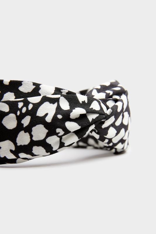 Black Animal Print Twist Headband_B.jpg
