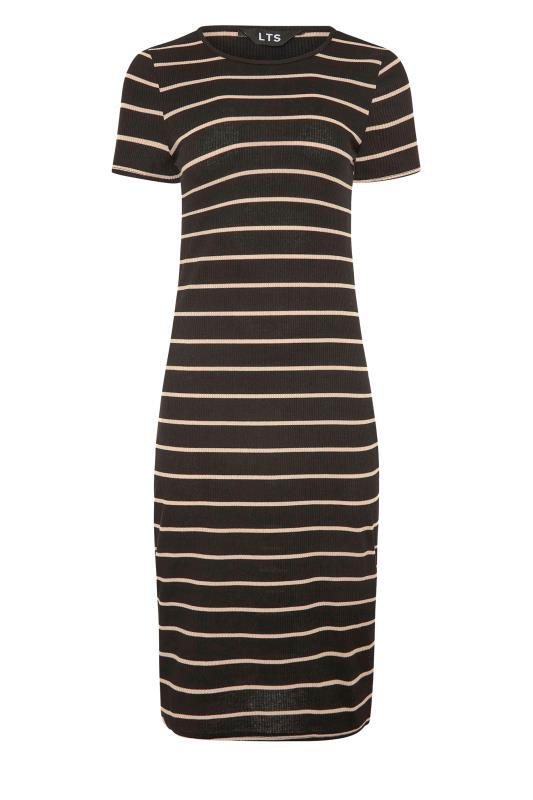 LTS Black Stripe Ribbed Dress_F.jpg