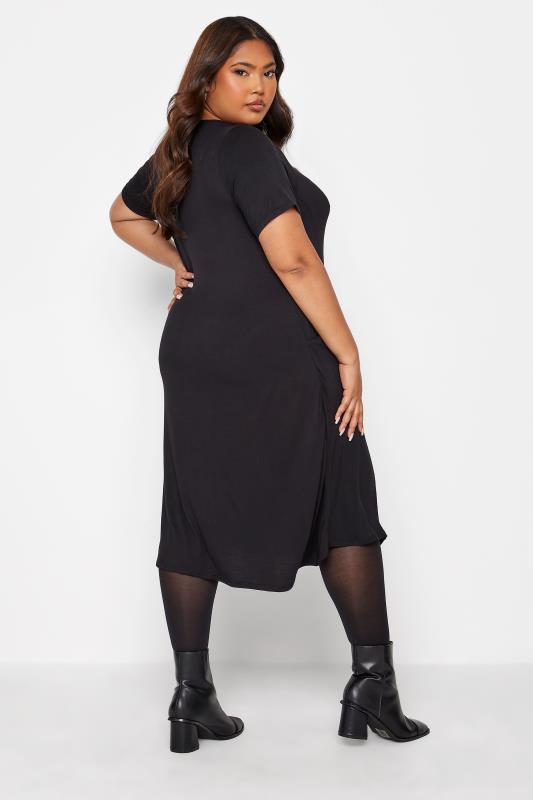 Black Drape Pocket Midi Dress_C.jpg