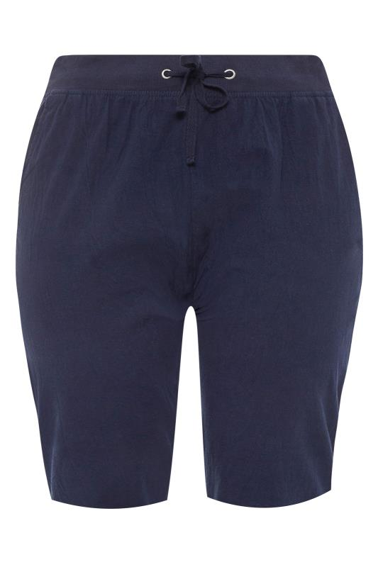Navy Cool Cotton Shorts_F.jpg