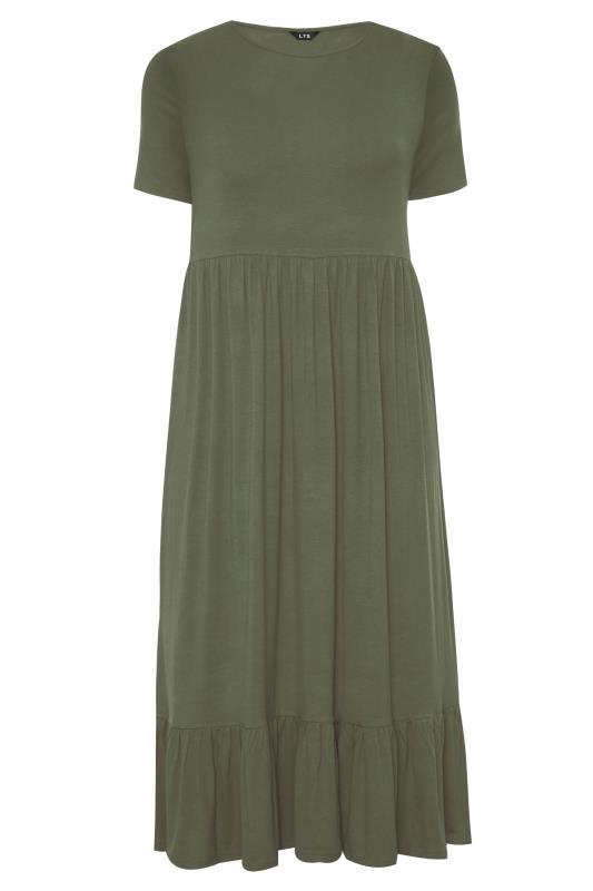 LTS Khaki Tiered Maxi Dress_F.jpg