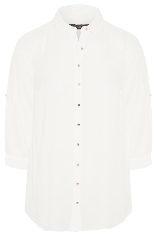 White Oversized Chiffon Shirt_F.jpg