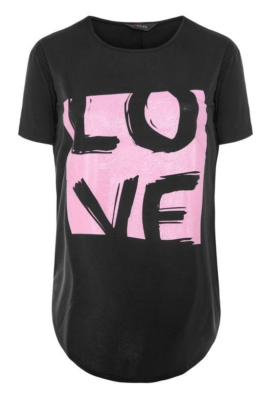 Black 'Love' Boyfriend T-Shirt_F.jpg