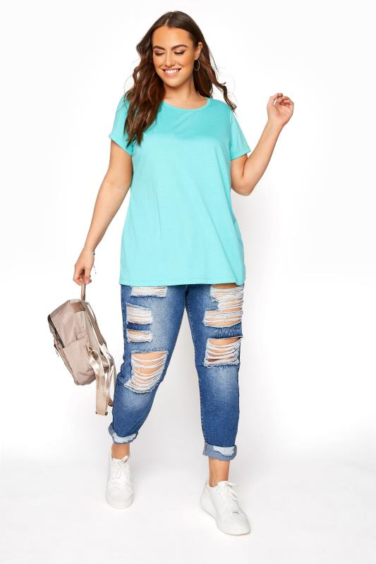 Turquoise Blue T-Shirt