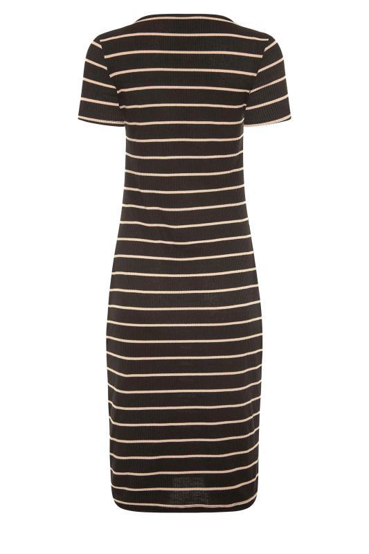 LTS Black Stripe Ribbed Dress_BK.jpg