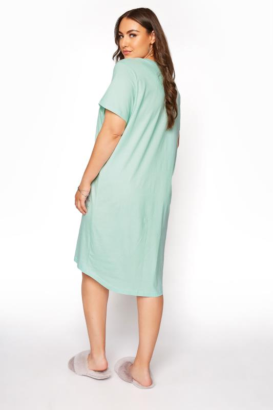Mint Green 'Kind People' Dip Back Nightdress_C.jpg