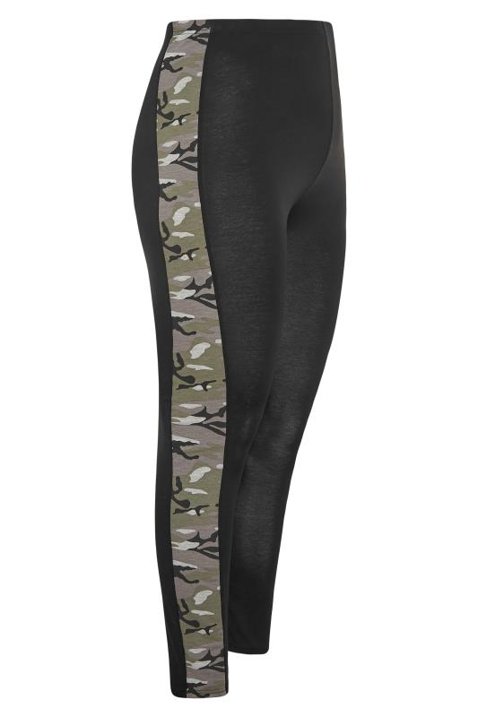 LIMITED COLLECTION Black Camo Side Panel Leggings_S.jpg