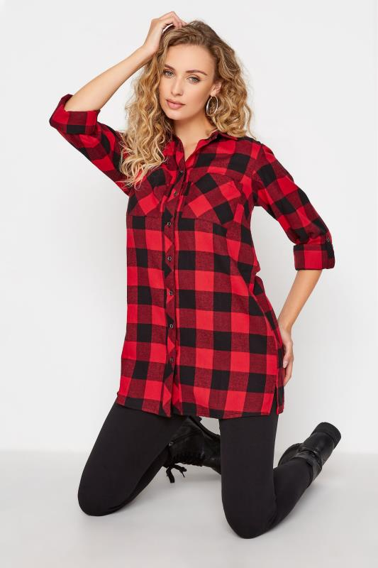 LTS Red Check Boyfriend Shirt_A.jpg