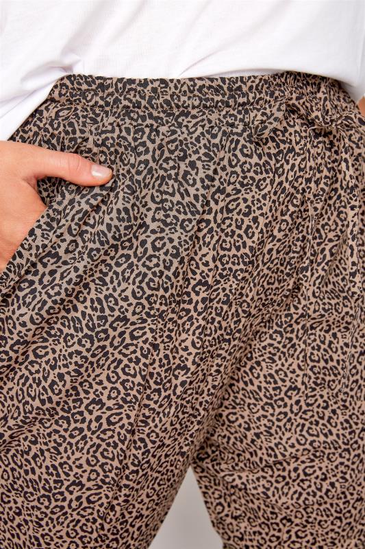 Leopard Tie Waist Harem Trousers_D.jpg