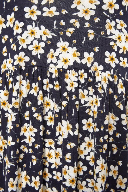 LTS Black Daisy Print Midi Dress_S.jpg