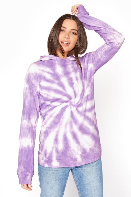 LTS Lilac Tie Dye Hoodie