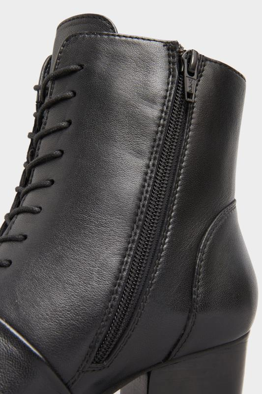 Black Leather Lace Up Heeled Boots In Extra Wide Fit_D.jpg