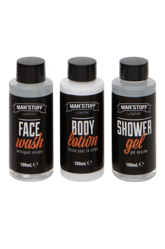 dla puszystych MANS'STUFF 'The Good, The Bad' Toiletry Gift Set