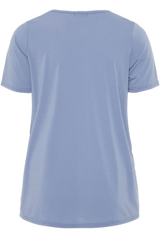 LIMITED COLLECTION Dusky Blue Heart Print T-Shirt_bk.jpg