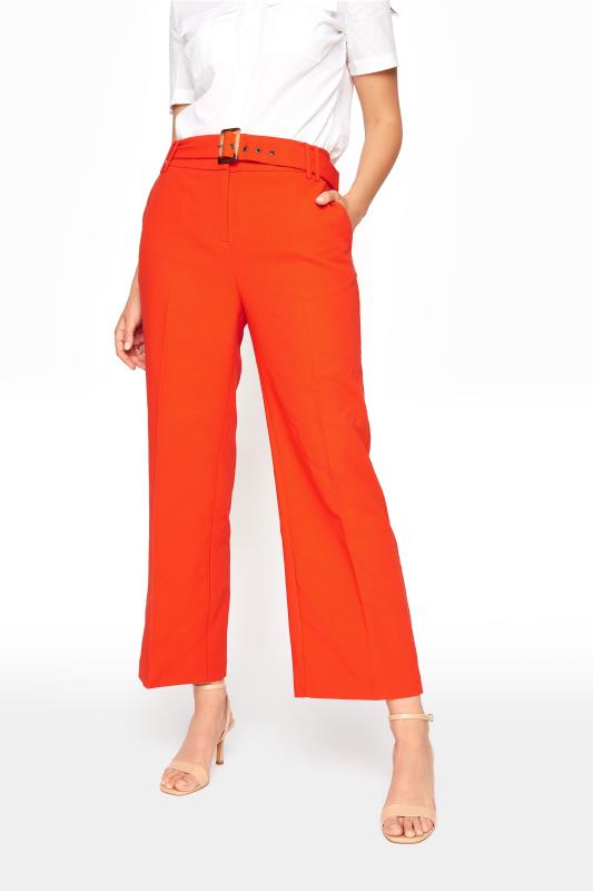 Orange Wide Leg Belted Culottes_B.jpg