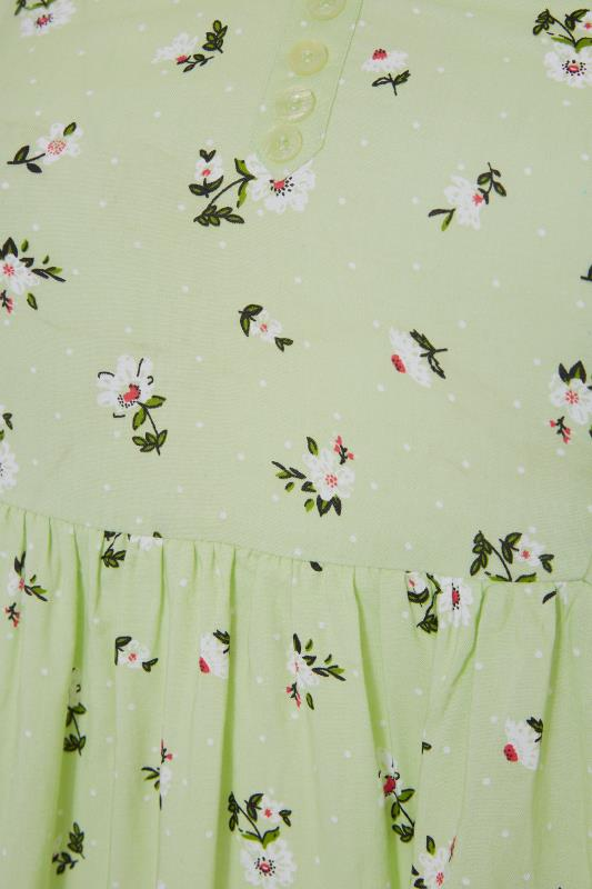 Green Ditsy Floral Strappy Dress_S.jpg