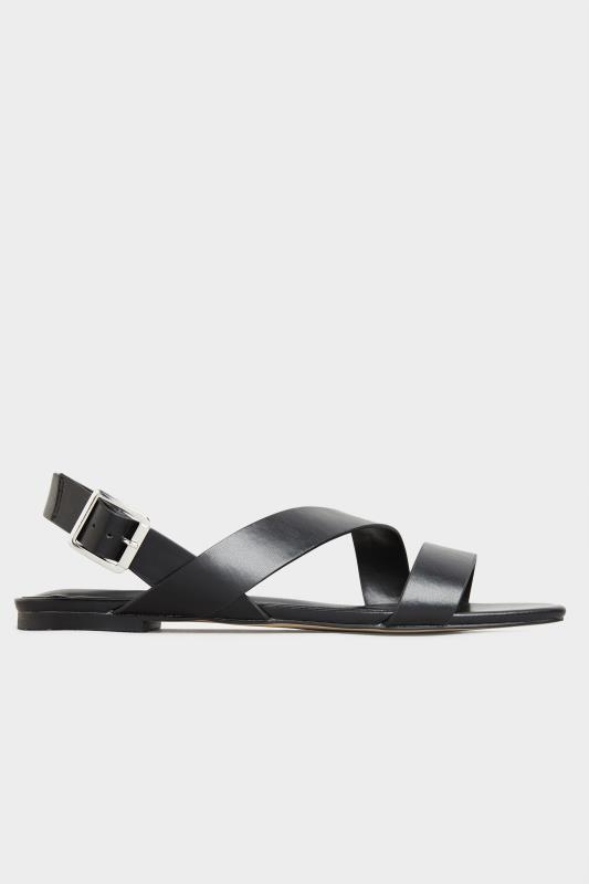 LTS Black Crossover Strap Sandals_A.jpg