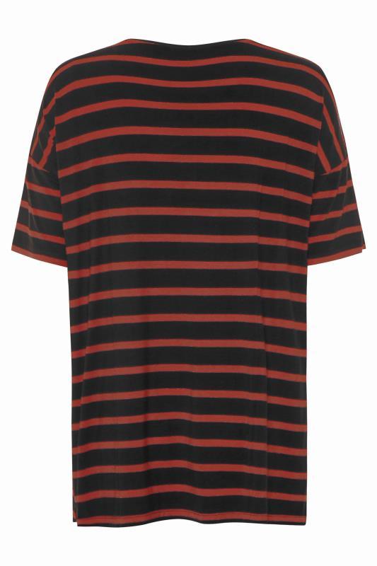 Black Rust Stripe Oversized T-Shirt_BK.jpg