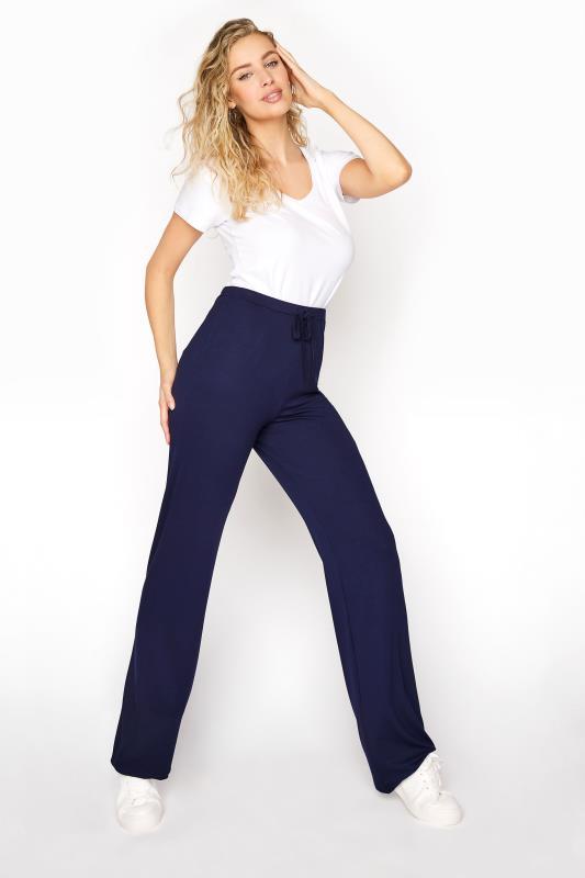 Tall  LTS Navy Yoga Pants