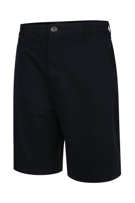 KAM Navy Chino Stretch Short