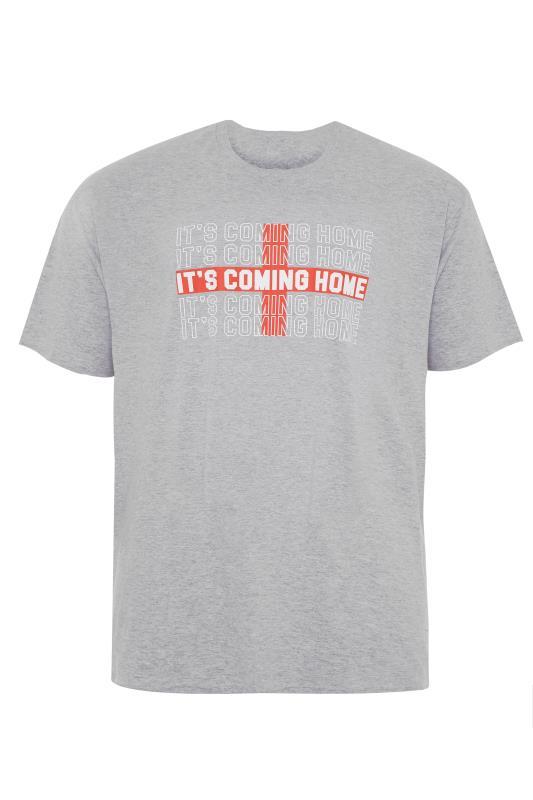 Men's  Grey Marl Coming Home T-Shirt